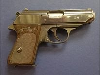 The Walther pistol was actually owned by Bernard Lee who played M