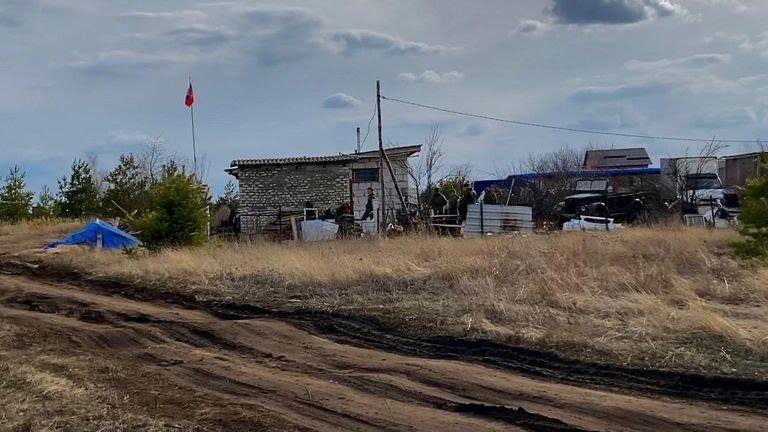 field camp near Voronezh